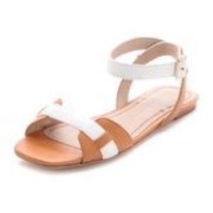 Elizabeth and James paige tan sandals